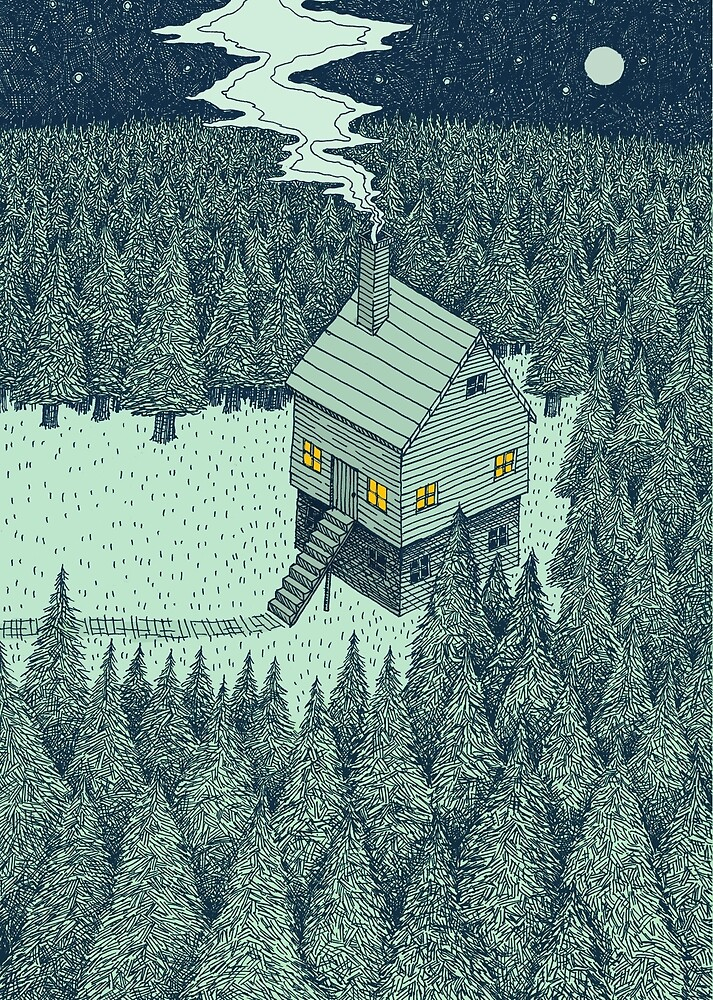 The Middle Of Nowhere (Colour) by Alex G Griffiths