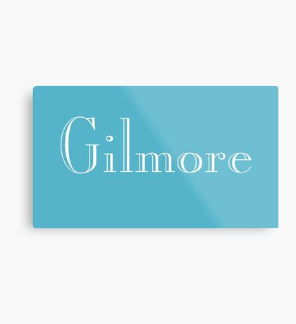 Gilmore Metal Print