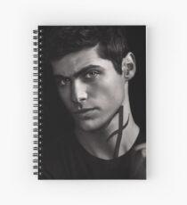 Alec Lightwood S2  Spiral Notebook