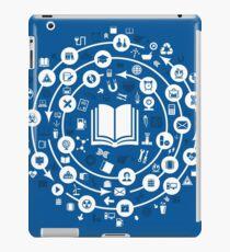 Science a circle iPad Case/Skin