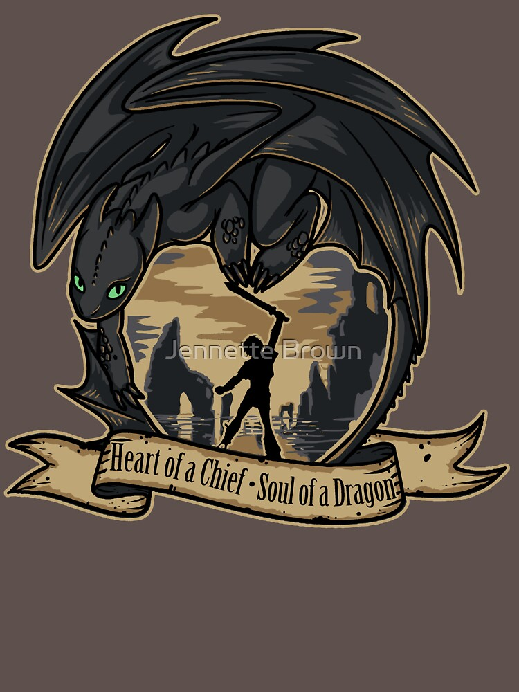 Heart of a Chief, Soul of a Dragon | Unisex T-Shirt