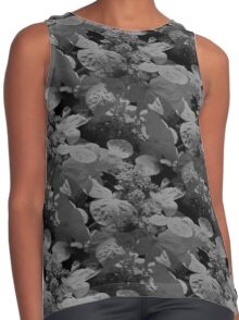 Hydrangea Flowers In Black And White Contrast Tank
