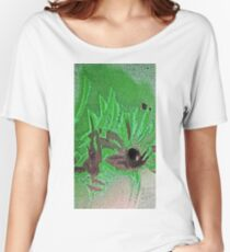 amongst the palms Women's Relaxed Fit T-Shirt