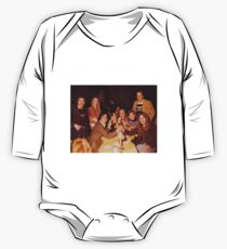 At Dinner Long Sleeve Baby One-Piece