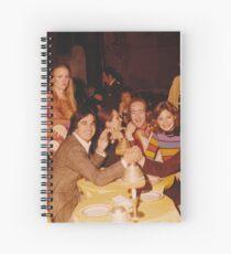 At Dinner Spiral Notebook