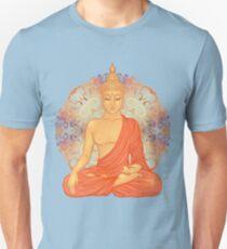 Golden Buddha + Mandala Unisex T-Shirt