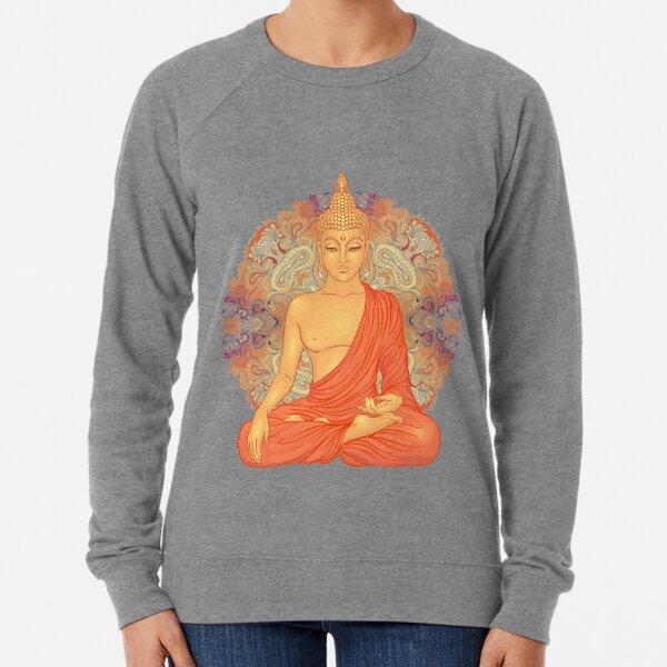 Golden Buddha + Mandala Lightweight Sweatshirt