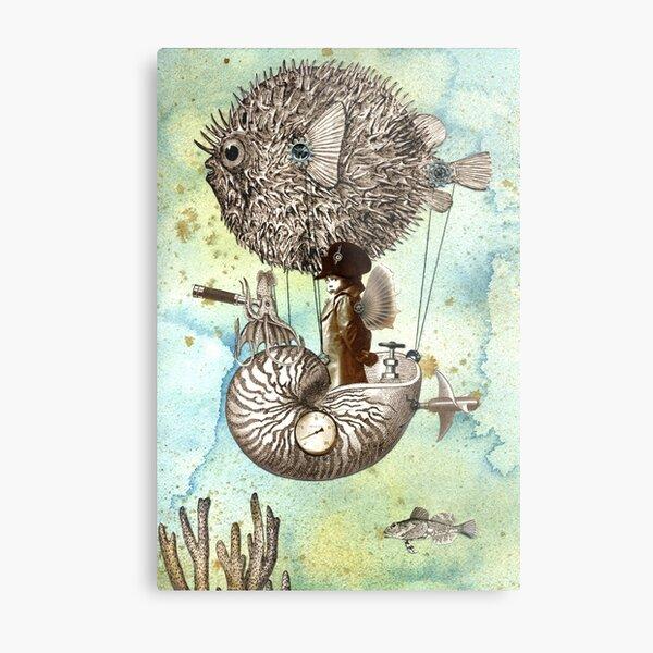 Flotilla - Claude & Blowfish Metal Print