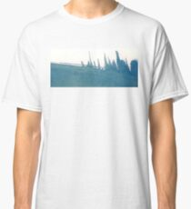 Cyanotype Design Abstract Landscape 2 Classic T-Shirt