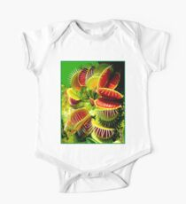 """VENUS FLY TRAP"" Flowered Poster Print Kids Clothes"