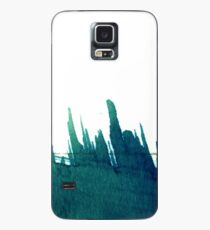 Cyanotype Design Abstract Landscape 3 Case/Skin for Samsung Galaxy