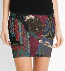 Klimt Muses III Mini Skirt