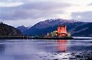 Eilean Donan Castle in winter  by David Rankin