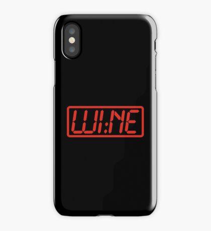 Wine Time iPhone Case/Skin