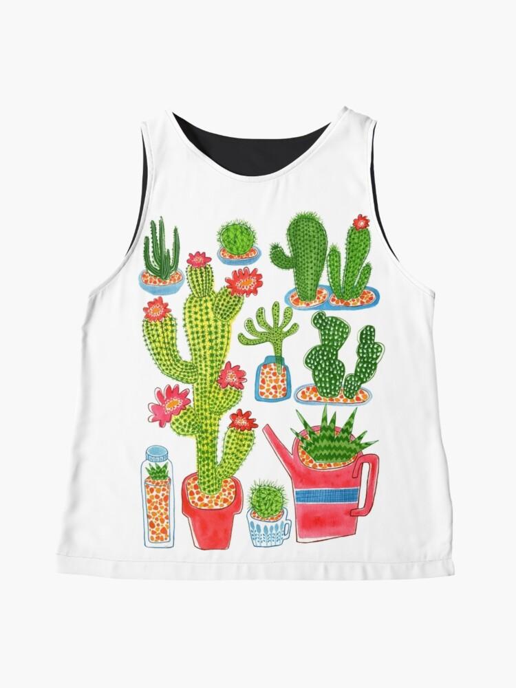 Alternative Ansicht von Kaktus Ärmelloses Top