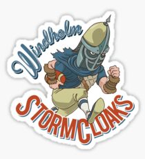 Windhelm Stormcloaks Sportsball Team Sticker