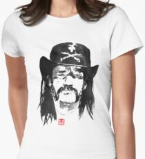 lemmy kilmister Womens Fitted T-Shirt