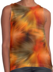 Abstract Orange Brown Yellow Colors Contrast Tank