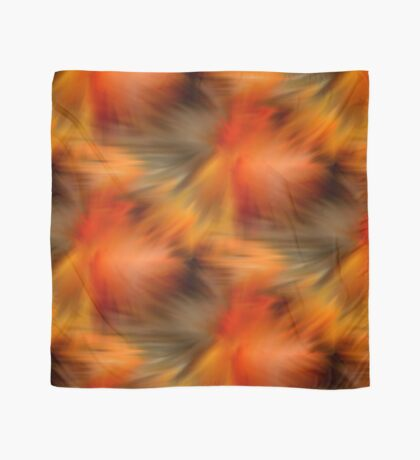 Abstract Orange Brown Yellow Colors Scarf