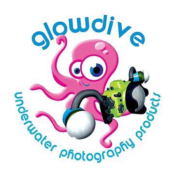 Glowdive Octopus Blue caption by underwaterart
