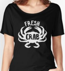 Fresh Crab all day design Women's Relaxed Fit T-Shirt