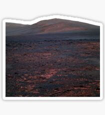 Mars Opportunity Hill Sticker