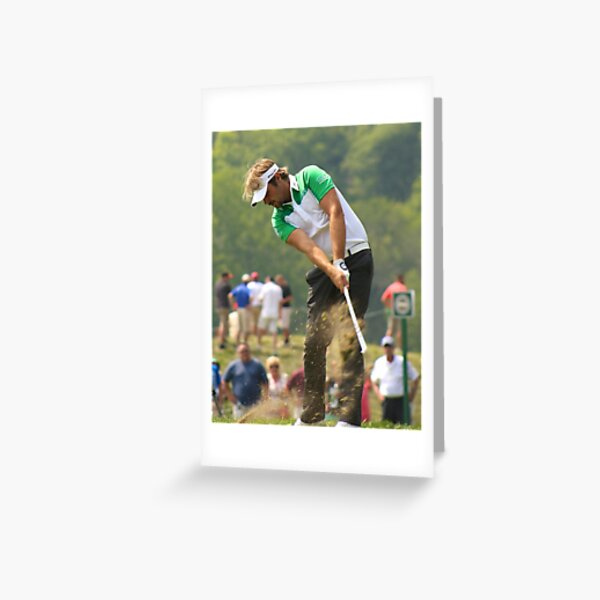 Victor Dubuisson Greeting Card