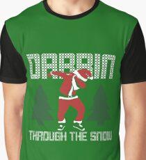Dabbin Through The Snow Graphic T-Shirt