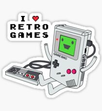 GBMO, The Retrogames Lover Sticker