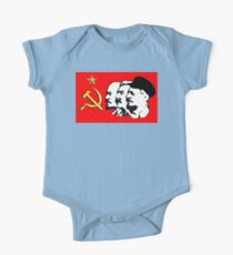 CORBYN, ELECTION, POLITICS, Red Flag, Comrade Corbyn, Leader, Labour Party, Black on White Kids Clothes