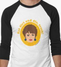 Blanche Devereaux von den Goldenen Mädchen Baseballshirt für Männer