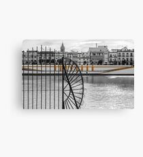 Streets of Seville - Calle Betis Canvas Print