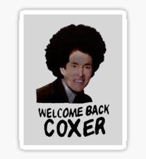 Scrubs - Welcome Back Coxer Sticker