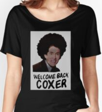 Scrubs - Welcome Back Coxer Women's Relaxed Fit T-Shirt