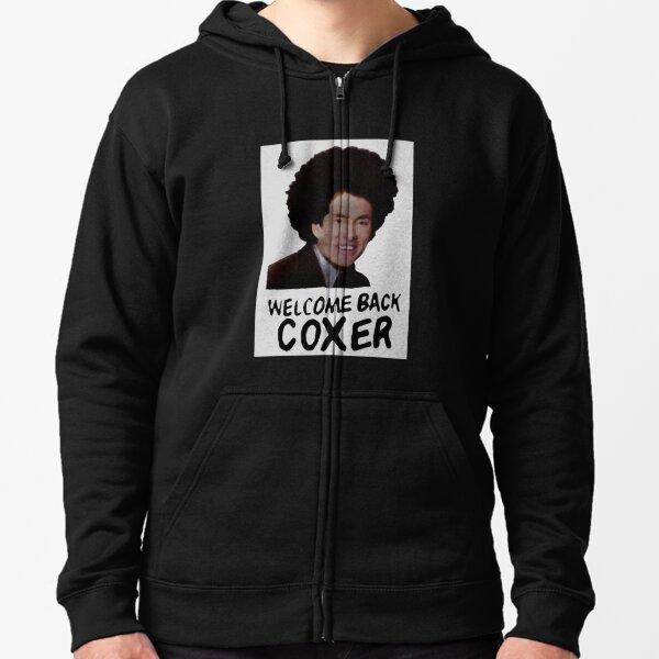 Scrubs - Welcome Back Coxer Zipped Hoodie