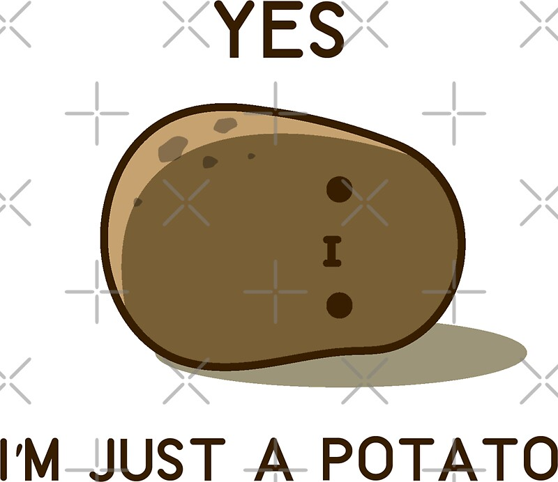 """""""Cute Potato"""" Stickers by clgtart 