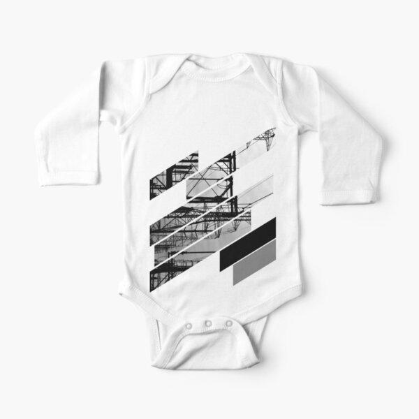 Electrik Long Sleeve Baby One-Piece