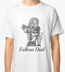 Fallout Dad (White) Classic T-Shirt