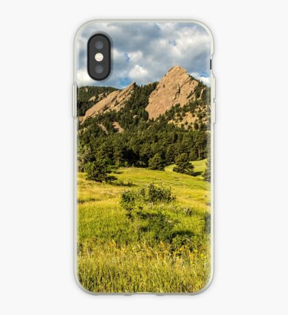 Delicious Vanilla Clouds On A Summer Chautauqua Morning iPhone Case