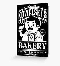 Kowalski's Bakery Greeting Card