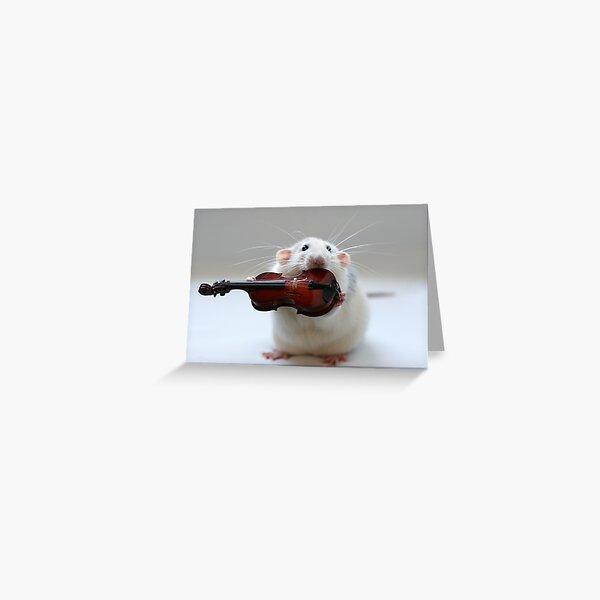 My new violin. Greeting Card