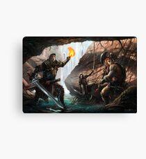 Adventurers  Canvas Print