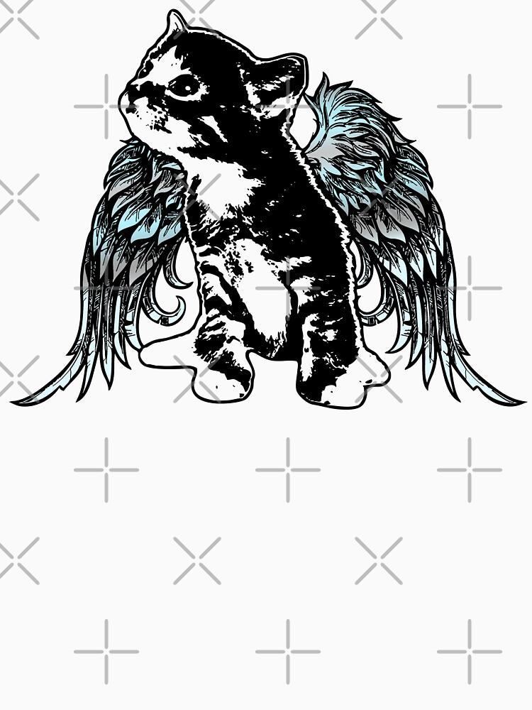 Angel Kitty by LittleMissTyne
