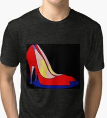 All You Need is Red Pumps Tri-blend T-Shirt