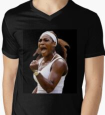 serena williams V-Neck T-Shirt