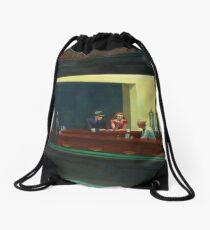 Mochila saco Vintage Edward Hopper Nighthawks Diner