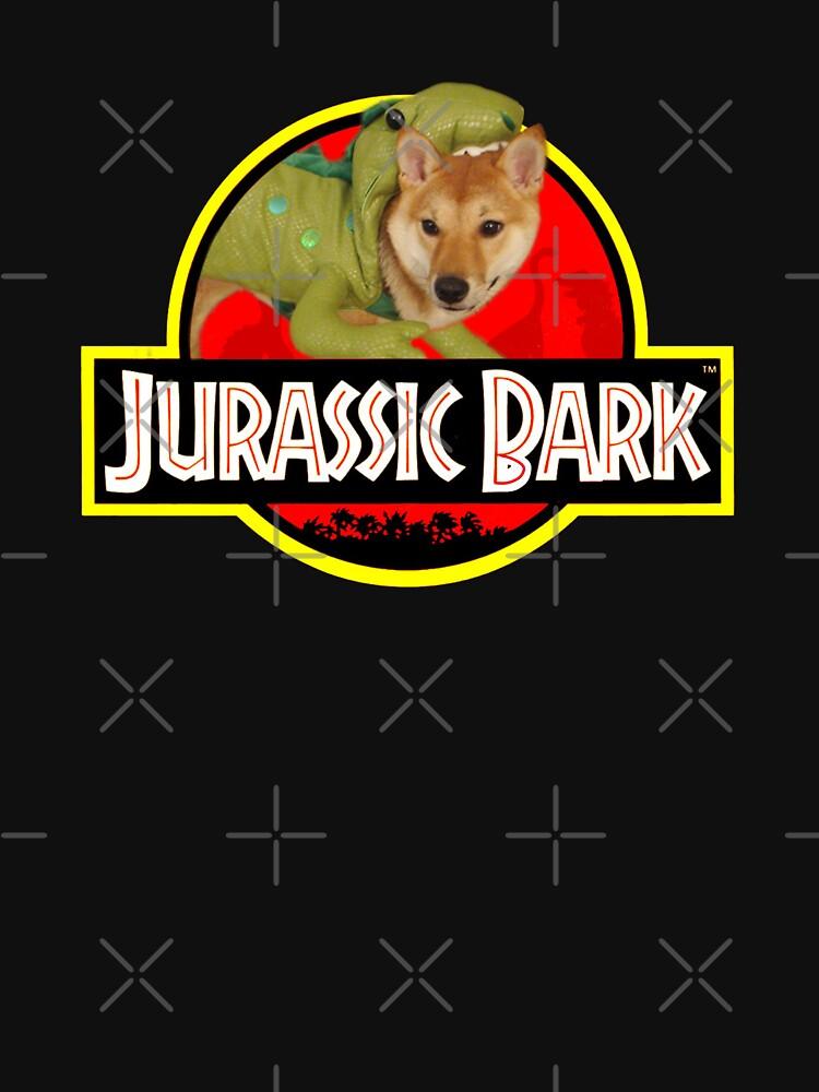Doggo Stickers: Jurassic Bark by Elisecv
