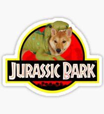 Doggo Stickers: Jurassic Bark Sticker