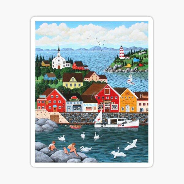 Swan's Cove Sticker