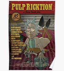 Pulp Ricktion Poster